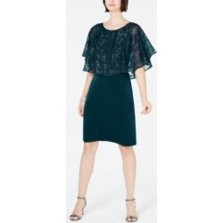 Connected Metallic Chiffon-Cape Dress found on Bargain Bro India from Macy's Australia for $42.63