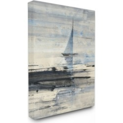 """Stupell Industries Abstract Sailing Canvas Wall Art, 24"""" x 30"""""""