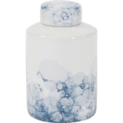 Howard Elliott Blue and White Porcelain Tea Jar, Large found on Bargain Bro Philippines from Macys CA for $157.38