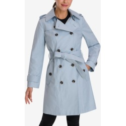 London Fog Hooded Double-Breasted Trench Coat found on MODAPINS from Macys CA for USD $141.83