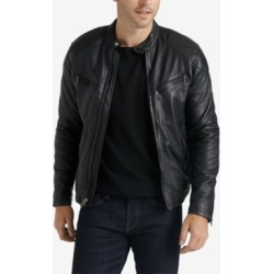 Lucky Brand Men's Leather Jacket found on MODAPINS from Macy's for USD $499.00