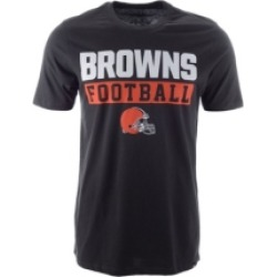 '47 Brand Cleveland Browns Men's Backdraft Super Rival T-Shirt found on MODAPINS from Macy's for USD $30.00
