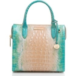 Brahmin Small Caroline Melbourne Embossed Leather Satchel found on MODAPINS from Macy's for USD $345.00