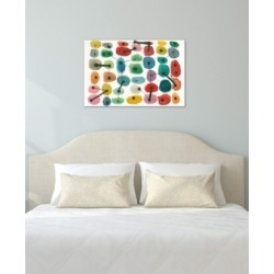 """iCanvas """"Mid Century Ii"""" by Cheryl Warrick Gallery-Wrapped Canvas Print (26 x 40 x 0.75)"""
