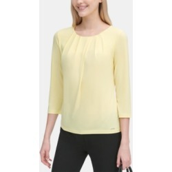 Calvin Klein Pleated Top found on MODAPINS from Macy's for USD $34.99