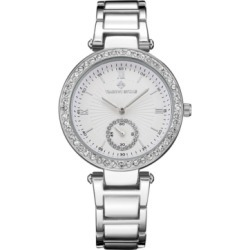 Timothy Stone Women's 'Elle' Classic Crystal Accented Bracelet Watch found on Bargain Bro India from Macy's for $39.00