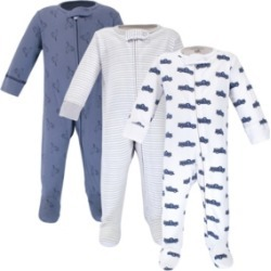 Touched By Nature Baby Boy Sleep and Play, 3 Pack