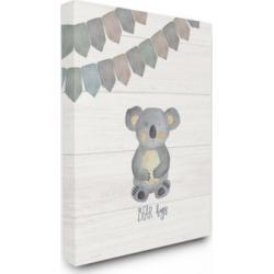 """Stupell Industries Bear Hugs Canvas Wall Art, 24"""" x 30"""""""