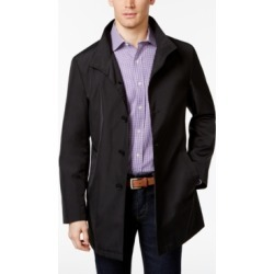 Calvin Klein Men's Slim Fit Black Solid Raincoat found on MODAPINS from Macy's for USD $350.00
