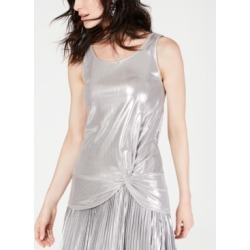 I.n.c. Metallic Twist-Front Tank Top, Created for Macy's found on Bargain Bro India from Macys CA for $21.94