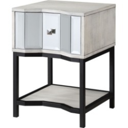 Coast to Coast Gabby One Drawer End Table