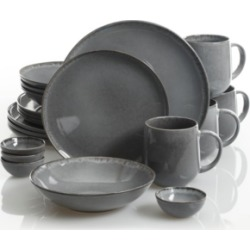 Cravings by Chrissy Teigen Parisian Grey 20-piece Dinnerware Set, Created for Macy's