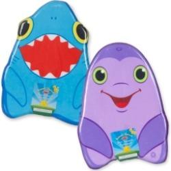 Melissa and Doug Kickboard Bundle - Dolphin & Shark