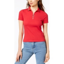 Project 28 Nyc Zip-Front Polo Shirt found on MODAPINS from Macy's for USD $29.00