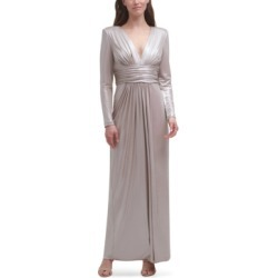 Vince Camuto V-Neck Metallic Gown found on Bargain Bro from Macy's for USD $158.08