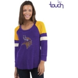 Touch by Alyssa Milano Minnesota Vikings Women's Distinct Snap Thermal T-Shirt found on Bargain Bro India from Macy's for $30.00