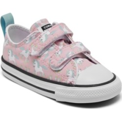 Converse Toddler Girls Chuck Taylor Unicorn 2V Stay-Put Casual Sneakers from Finish Line found on MODAPINS from Macy's for USD $35.00