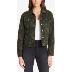 Skinnygirl Camo Denim Jacket found on MODAPINS from Macys CA for USD $81.86