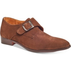 Carlos by Carlos Santana Men's Freedom Single Monk-Strap Suede Loafers Men's Shoes found on Bargain Bro India from Macys CA for $167.34