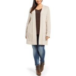 Style & Co Plus Size Thermal Cardigan, Created For Macy's