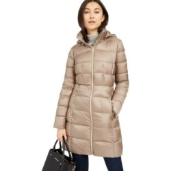 Michael Michael Kors Hooded Long Packable Down Puffer Coat, Created for Macy's found on MODAPINS from Macy's Australia for USD $103.12