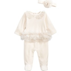 First Impressions Baby Girls Sparkle Coverall, Created for Macy's found on Bargain Bro India from Macy's for $15.60