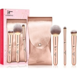 It Cosmetics 4-Pc. Celebrate Your Heavenly Luxe On-The-Go Makeup Brush Set