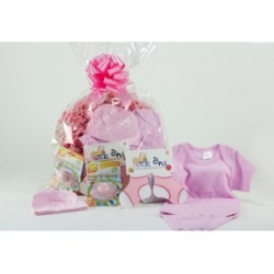 3 Stories Trading Baby Girl Layette Gift Assortment