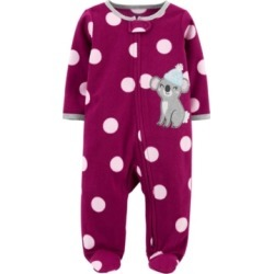 Carter's Baby Girl 1-Piece Koala Fleece Footie PJs found on Bargain Bro India from Macy's for $13.50
