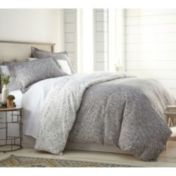 Southshore Fine Linens Confetti Reversible Printed Duvet Cover and Sham Set, Twin/Twin Xl Bedding