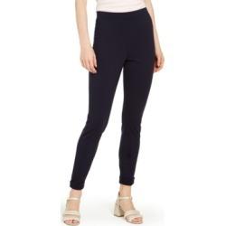 Hue Brushed Fleece-Lined Ponte-Knit Leggings