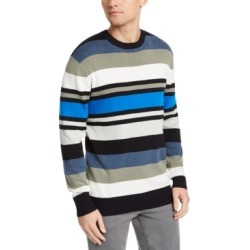 Dkny Men's Regular-Fit Variegated-Stripe Sweater found on MODAPINS from Macy's for USD $17.96
