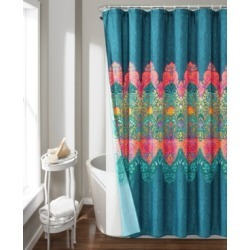Boho Chic 14Pc Shower Curtain Set Bedding found on Bargain Bro from Macy's for USD $115.52
