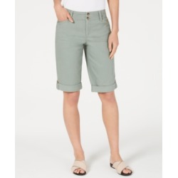 Charter Club Tummy Control Chino Shorts, Created for Macy's found on MODAPINS from Macy's for USD $37.13
