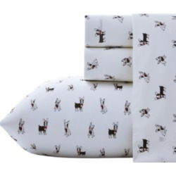 Poppy & Fritz Frenchie Sheet Set, Twin Xl Bedding found on Bargain Bro Philippines from Macy's for $39.99