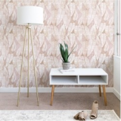 Deny Designs Schatzi Brown Island Goddess Leaf Creme 2'x4' Wallpaper found on Bargain Bro Philippines from Macy's for $75.99