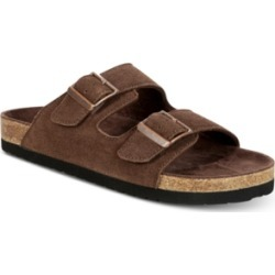 Dr. Scholl's Men's Fin Suede Slip-On Sandals Men's Shoes found on Bargain Bro India from Macy's for $60.00