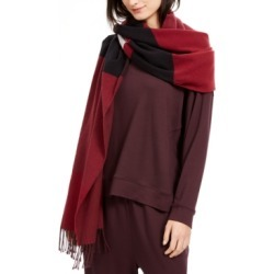 Eileen Fisher Colorblocked Fringe-Trim Scarf found on Bargain Bro India from Macy's Australia for $114.74