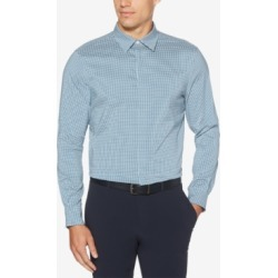 Perry Ellis Men's Slim-Fit Performance Stretch Quick-Dry Check Shirt found on Bargain Bro India from Macys CA for $49.68