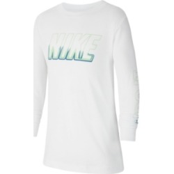 Nike Big Boys Sportswear Long-Sleeve T-shirt found on Bargain Bro India from Macy's for $25.00
