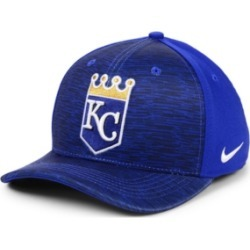 Nike Kansas City Royals Velocity Swooshflex Stretch Fitted Cap found on Bargain Bro India from Macy's for $32.00