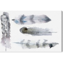 Oliver Gal Plumes Canvas Art, 24