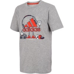 adidas Big Boys Short Sleeve Heather Sports Jamz Tee found on MODAPINS from Macy's for USD $15.00