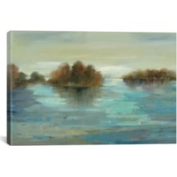 """iCanvas Serenity on The River by Silvia Vassileva Gallery-Wrapped Canvas Print - 26"""" x 40"""" x 0.75"""""""