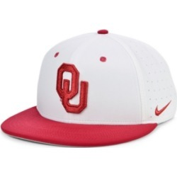 Nike Oklahoma Sooners Aerobill True Fitted Baseball Cap found on Bargain Bro India from Macy's for $35.00