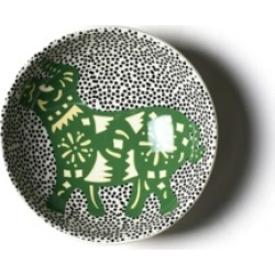 Coton Colors by Laura Johnson Chinese Zodiac Ox Bowl