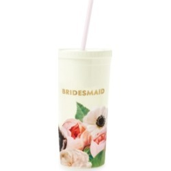 Kate Spade New York Tumbler With Straw, Blushing Floral found on Bargain Bro Philippines from Macy's for $18.00