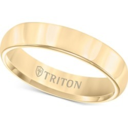 Triton Domed Comfort Fit Band in Yellow Tungsten Carbide found on Bargain Bro Philippines from Macys CA for $419.68
