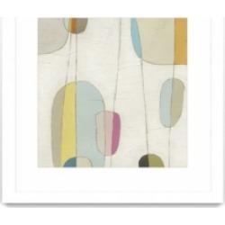 "Giant Art Molecular Motion Iv Matted and Framed Art Print, 36"" x 36"""