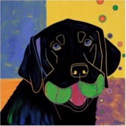 Angela Bon Baller Canvas Art - 15.5
